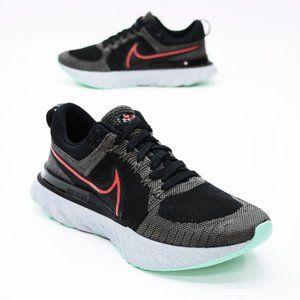 Nike Men's 8.5 React Infinity Flyknit Black Gray